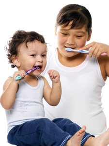 children_brushing